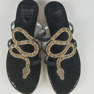 Love and Liberty Shoes - Love and Liberty Sahara Sandals Size 10